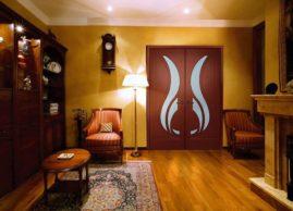 двустворчатые модели дверей